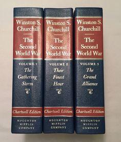Winston S. Churchill: The Second World War Vol. 1, 2, 3 (1983 Chartwell Edition)