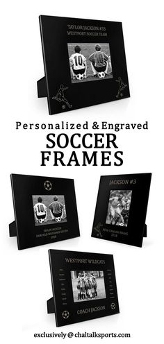 Our engraved soccer frames will be the perfect gift for favorite player, team or coach! Add a bit of soccer pride to any home! Soccer Coach Gifts, Volleyball Gifts, Baseball Room Decor, Hockey Room, Gifts For Baseball Lovers, Engraved Picture Frames, Baseball Pictures, Senior Gifts, Lacrosse