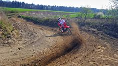 Having some fun @ the track in Schlatt Dirt Biking, Have Some Fun, Good Times, Honda, Track, Country Roads, Training, Bike, Learning To Drive
