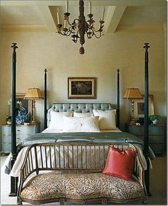 One of my all time favorite  pins.. love this bedroom!