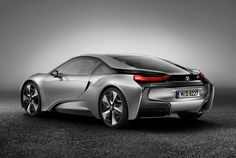 Rendering of what the Bimmer i8 may look like.