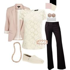 Blush and Ivory Teacher outfit