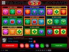 #Play the #new and unique Jackpot 3×3 by 1x2 Gaming and enjoy real #wins up to £10,000. Sign up at the popular Vegas Paradise and avail £5 bonus now.