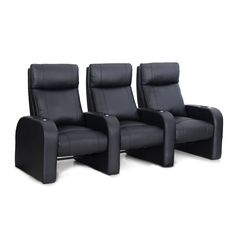 Octane Pulse ZR450 Recliner Home Theater Seating Set