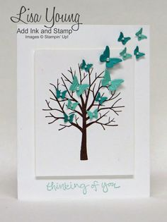 Flight of the Butterflies by genesis - Cards and Paper Crafts at Splitcoaststampers