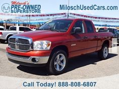 Cars for Sale: Used 2008 Dodge Ram 1500 Truck 4x4 Quad Cab for sale in Lake Orion, MI 48362: Truck Details - 455981890 - Autotrader