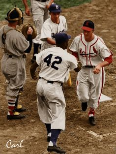 Musial AS Game HR color by Carl