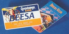 The #Goosebumps Bank accepts both BEESA and Diners Club cards.  Keywords: #ThrowbackThursday, #Vintage, #tbt