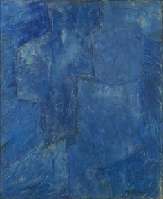 Serge Poliakoff, Le Bleu, 1968