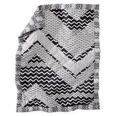 Missoni for Target crib quilt