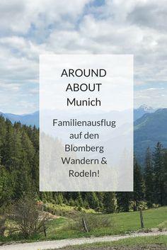Nur rund  eine Stunde von München entfernt liegt in der Nähe von Bad Tölz der Blomberg, der hinsichtlich Gaudi & Spaß in den letzten Jahren mächtig zugelegt hat: Neben einem wunderschönen Wandergebiet gibt es zwei Rodelbahnen, Trampoline und vieles mehr. Ein perfektes Ausflugsziel für Familien mit Kinder unterschiedlichen Alters. #ausflug #familie #kinder #münchen #blomberg #bayern #wandern #sommerrodelbahn