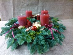 Advent wreath, Adventi koszorú