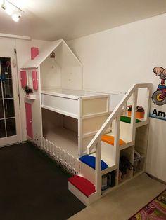 Baby room ideas for boys ikea kura bed trendy Ideas Kura Cama Ikea, Ikea Kura Hack, Ikea Hacks, Kura Bed Hack, Bunk Bed Designs, Dreams Beds, Ikea Bedroom, Lego Bedroom, Childs Bedroom