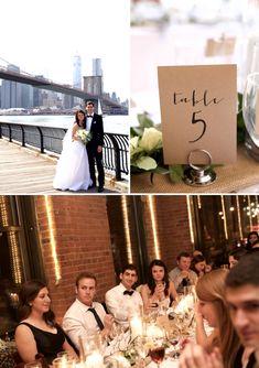 Maggie and Jeff | New York City-infused 'Urban Elegance' Jew-ish wedding at the Dumbo Loft, Brooklyn, New York City, USA