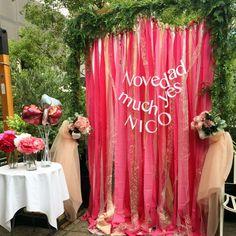 まん丸バルーン Pink Cafe, Backdrops For Parties, Wedding Images, Flower Wall, Event Decor, Photo Booth, Happy Birthday, Girly, Valentines