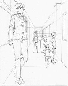 draw a face Human Anatomy Drawing, Manga Drawing, Figure Drawing, Drawing Sketches, Art Drawings, Perspective Drawing Lessons, Perspective Sketch, Background Drawing, Drawing Studies