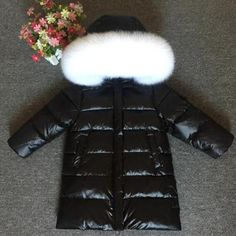 5fbebb35b925 Children Coat Winter Girls wn   Parkas Coats Warm Coat Kids ...