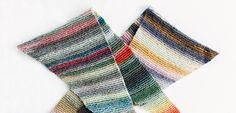 ロンググラデーションの三角ショール | 編み物キット販売・編み方ワークショップ|イトコバコ