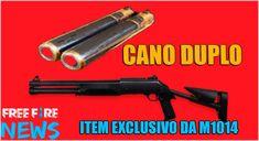 Cano Duplo: Novo Item da no Free Fire - Free Fire News M60, Free Shoot, Free Avatars, Free Android Games, Free Gems, Mobile Legends, Wallpaper Free Download, Ninja, Double Barrel