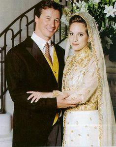 Mariées du Gotha : Zahra Aga Khan  et Mark Boyden