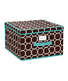 Constructed from nylon for strength and durability, this colorful storage box is a great way to organize closets, car trunks and garages.16'' W x 10'' H x 16'' D410 nylonImported