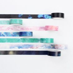Galaxy Masking Tape 7-pack – Kawaii Pen Shop