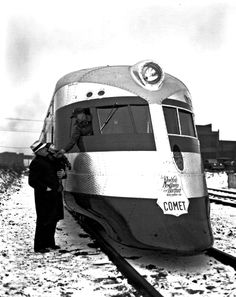 The New York, New Haven and Hartford Railroad Co. Comet, built by Goodyear-Zeppelin Corp, 1934.