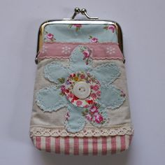 Pink and sweet coin purse.