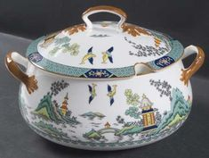 Coalport Chinese Willow Tureen &  Lid