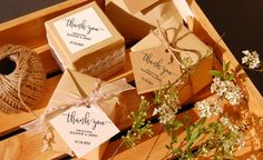 Thank You wedding tags for guest favor by StationeryConcierge