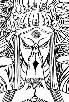 Kaguya vs Naruto and Sasuke Anime Naruto, Manga Anime, Naruto Sasuke Sakura, Naruto Shippuden Sasuke, Naruto Art, Anime Demon, Otaku Anime, Boruto, Naruto Sketch
