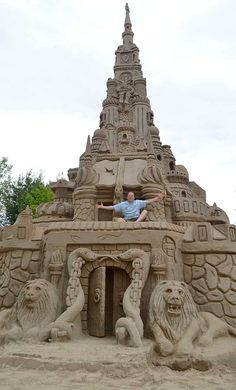 Sandcastle Art: 13 Sandcastles You'd Have To See To Believe