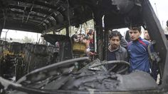At Least 36 Killed After Suicide Bomber Targets Crowded Baghdad Market