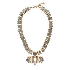 J.Crew+-+Lulu+Frost+solarwave+necklace
