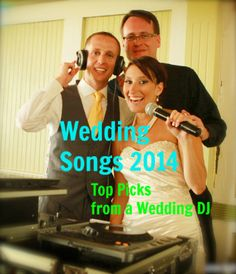 Wedding Music Master Class 2014 | NJ DJ   Spanning some 700 songs, this blog contains our top choices for 2014 in the wedding categories of ceremony music, first dance songs, grand entrance music, parent dances and cakecutting music.  The blog also contains links to our 25 themed wedding cocktail hour playlists, musical programming tips for a wedding, and 10 songs NOT to play at a wedding. #weddings #weddingmusic #weddingplanning #weddingDJ #discjockey #pinparty We are Ambient DJ Service! Wedding Playlist, Wedding Songs, Wedding 2015, Wedding Dj, Wedding Tips, Wedding Bells, Wedding Wishes, Wedding Themes, Dream Wedding