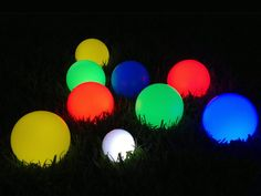 Glow Bocce Balls - available at http://www.tosso.com/lighted-bocce-balls.html