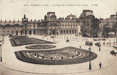 Une belle vue de la place du Carrousel vers 1910.