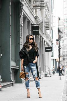 Casual Boyfriend :: Anorak jacket & Boyfriend jeans : Wendy's Lookbook