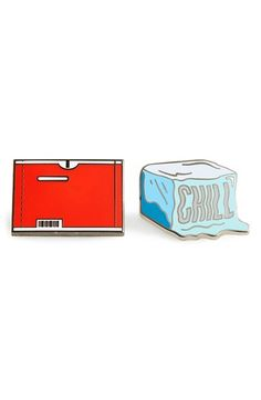 PINTRILL 'Chill' Fashion Accessory Pins (Set of 2)