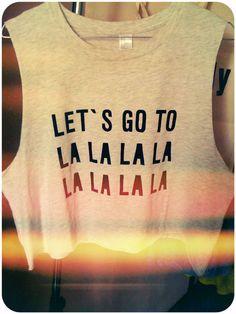 Let's go to LA 80's Tee.