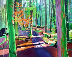 Enchanted Wood by contemporary artist Emma Cownie