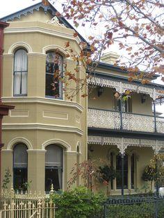 a victorian terrace house flemington by raaen99 via flickr - Australian Victorian Houses