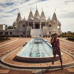Went scouting for new shooting locations in Toronto, Canada today. This Hindu shrine's beautiful exotic architecture is so out of place in… Gta, Ottawa, The Places Youll Go, Places To See, Quebec Montreal, Toronto Photography, Travel Photography, Canadian Travel, Canadian Rockies