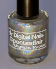 Spectraflair Linear Holographic Topcoat by DigitalNails on Etsy, $10.00