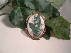 Poetically Beautiful Vintage Lily of the by SARAHSVINTAGEBAUBLES