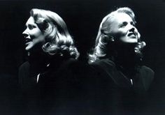 Emily Skinner and Alice Ripley in Side Show, 1997