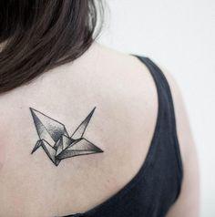 15 Meilleures Images Du Tableau Top 15 Tatouage Origami First
