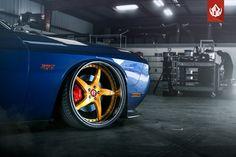 #Dodge Challenger SRT-8 VIP Modular VR15 #Wheels