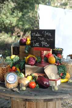 Party Food Ideas: A Trail Mix Bar