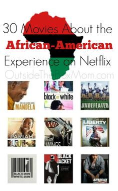 These movies about the African-American experience are great to watch duringBlack History Month. These Netflix titles cover slavery, black power, racism, segregation, documentaries, and civil rights. These 30 movies focus on everything from the struggle for civil rights to issues of law enforcement turned tragic, to chronicles of everyday black families in modern America. These …